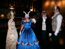 "Coming on September 28, the ""Time Travelers' Masquerade"" at the Masonic Temple, presented by Mask Costumes, City Weekly, and 94.1 Oldies FM.  Be any One any When-- just wear a mask with your costume a"